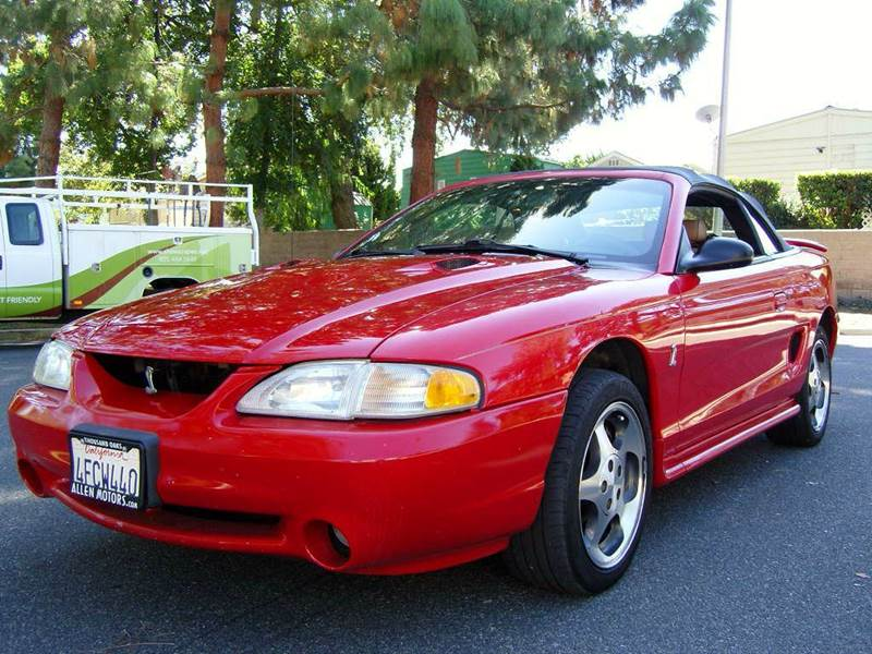 1997 ford mustang svt cobra for sale in tampa fl for Allen motors thousand oaks