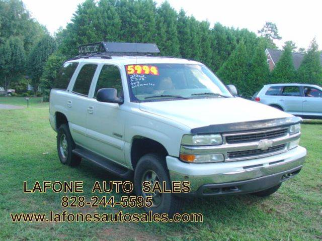 2002 chevrolet tahoe for sale in clarksville tn. Black Bedroom Furniture Sets. Home Design Ideas