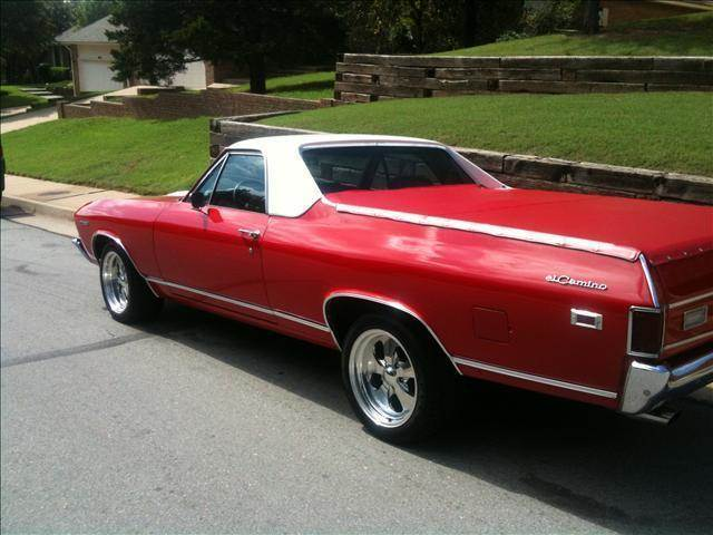1969 chevrolet el camino for sale in calumet ok. Black Bedroom Furniture Sets. Home Design Ideas