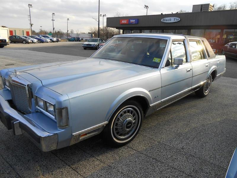 1987 Lincoln Town Car For Sale C107439 on Average Car Insurance Rates
