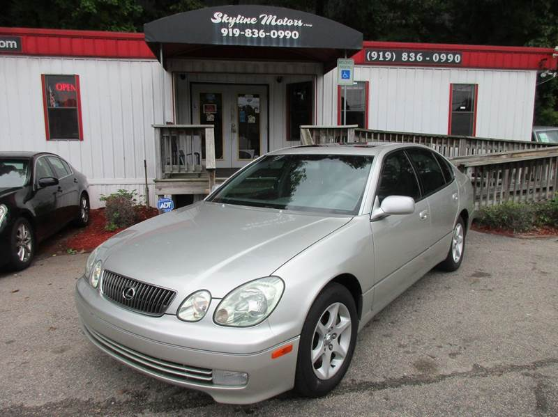 2001 lexus gs 300 for sale in raleigh nc for Skyline motors raleigh nc