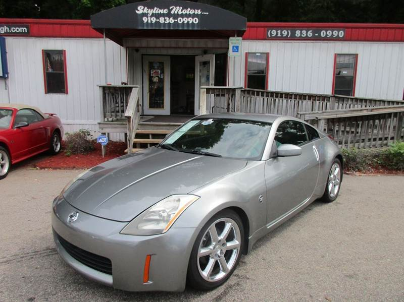 2004 nissan 350z for sale for Skyline motors raleigh nc