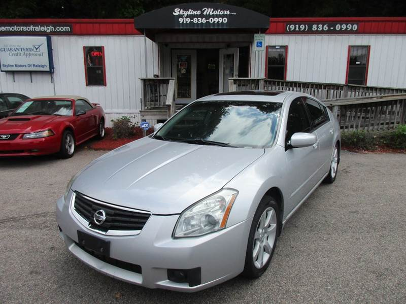 2007 nissan maxima for sale for Alpine motors of raleigh
