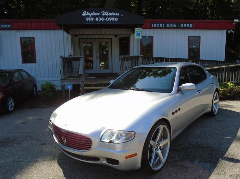 2006 maserati quattroporte for sale for Skyline motors raleigh nc