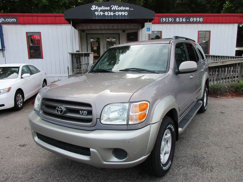 2002 toyota sequoia for sale in raleigh nc. Black Bedroom Furniture Sets. Home Design Ideas