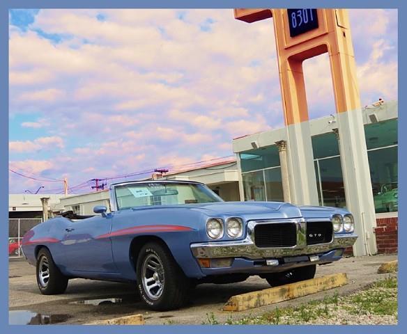 1970 pontiac gto for sale in austin tx for Rainbow motors el paso tx