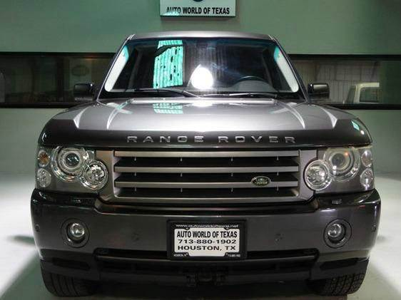 2006 land rover range rover for sale in houston tx. Black Bedroom Furniture Sets. Home Design Ideas