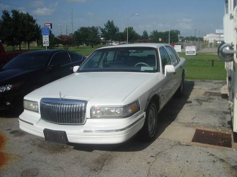 1996 lincoln town car for sale in lawton ok. Black Bedroom Furniture Sets. Home Design Ideas