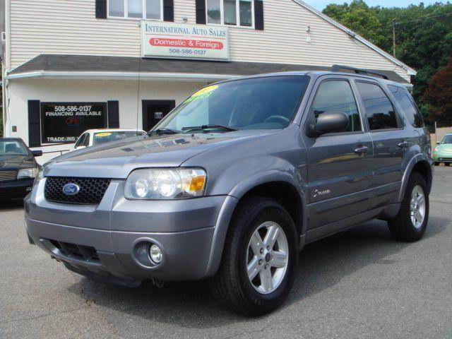 2007 ford escape hybrid for sale in bridgewater ma. Cars Review. Best American Auto & Cars Review