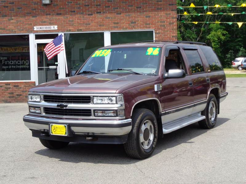 1996 chevrolet tahoe for sale in rochester nh. Black Bedroom Furniture Sets. Home Design Ideas