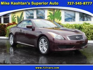2009 infiniti g37 convertible for sale in pinellas park fl. Black Bedroom Furniture Sets. Home Design Ideas