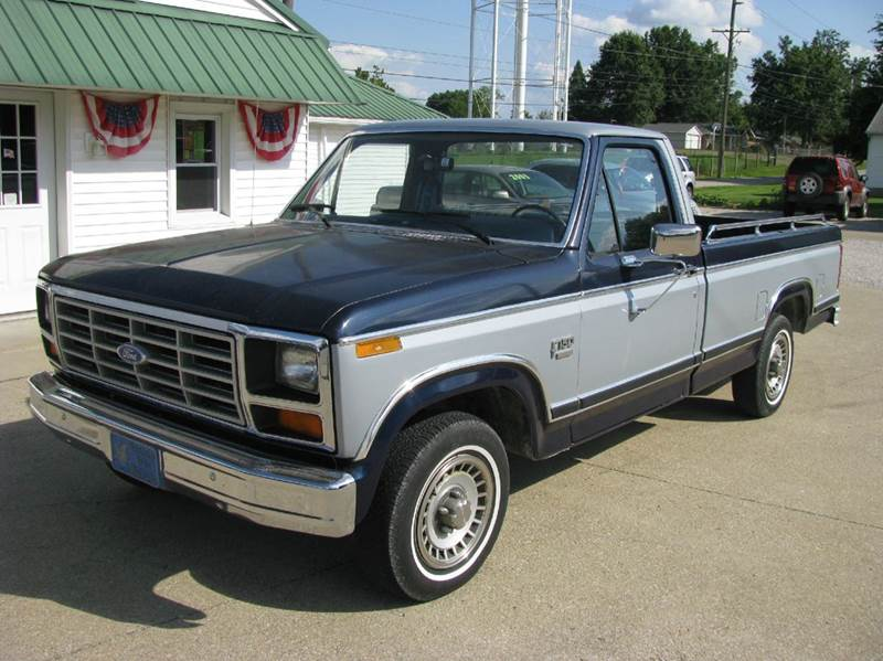 1984 ford f 150 for sale in dale in. Black Bedroom Furniture Sets. Home Design Ideas
