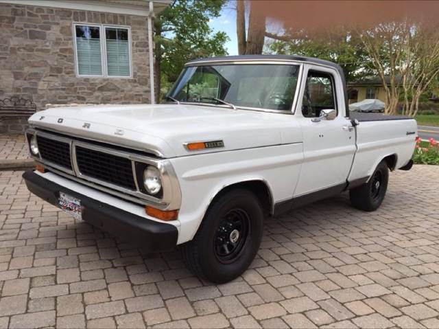 Ford f 100 for sale in maryland for Garage ford vernon