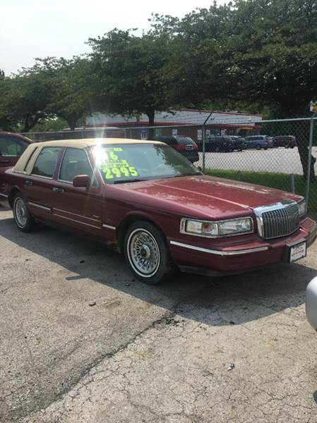 1996 lincoln town car for sale in markham il. Black Bedroom Furniture Sets. Home Design Ideas