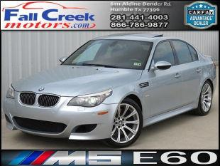 2008 bmw m5 for sale in humble tx. Black Bedroom Furniture Sets. Home Design Ideas
