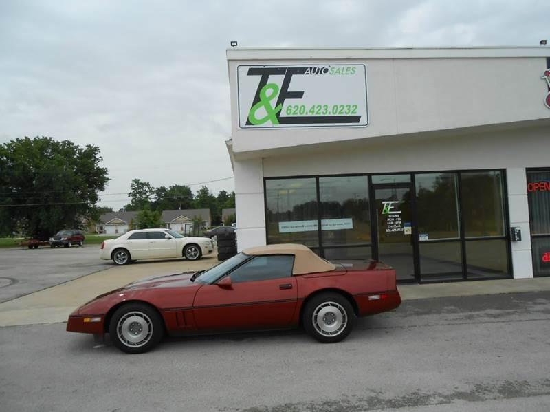 1987 Chevrolet Corvette For Sale In Parsons Ks