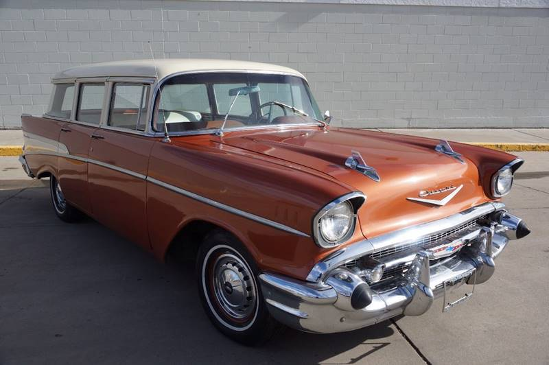 1957 chevrolet bel air 150 210 wagon auctions buy and for Discount motors pueblo co