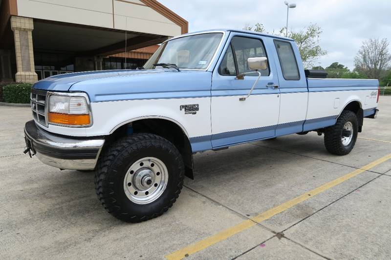 1996 ford f 250 xlt 2dr 4wd extended cab lb hd ebay. Black Bedroom Furniture Sets. Home Design Ideas