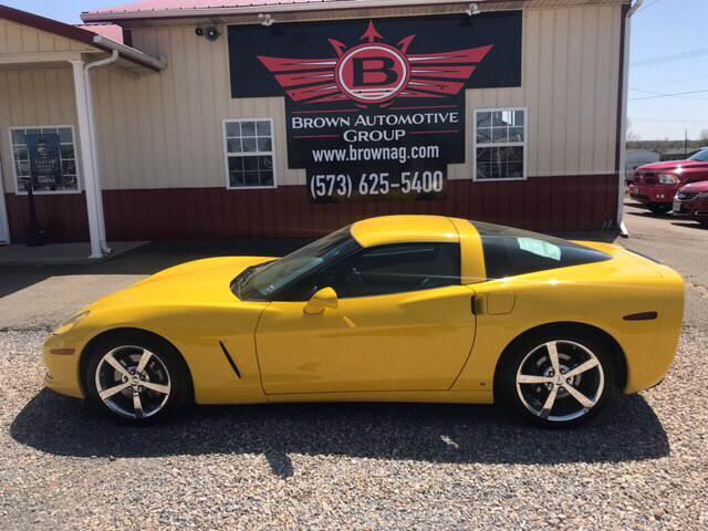 2006 Yellow Chevrolet Corvette Coupe  | C6 Corvette Photo 1
