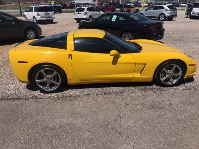 2006 Yellow Chevrolet Corvette Coupe  | C6 Corvette Photo 3