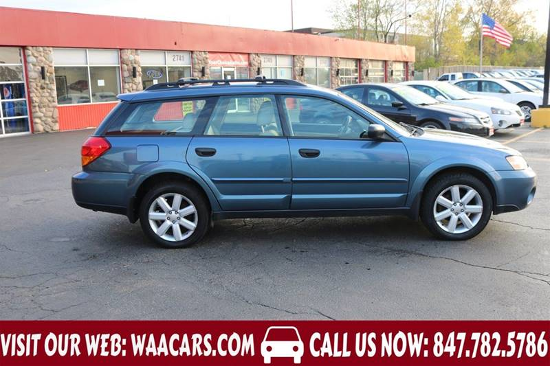 2006 subaru outback awd 4dr wagon w automatic ebay. Black Bedroom Furniture Sets. Home Design Ideas