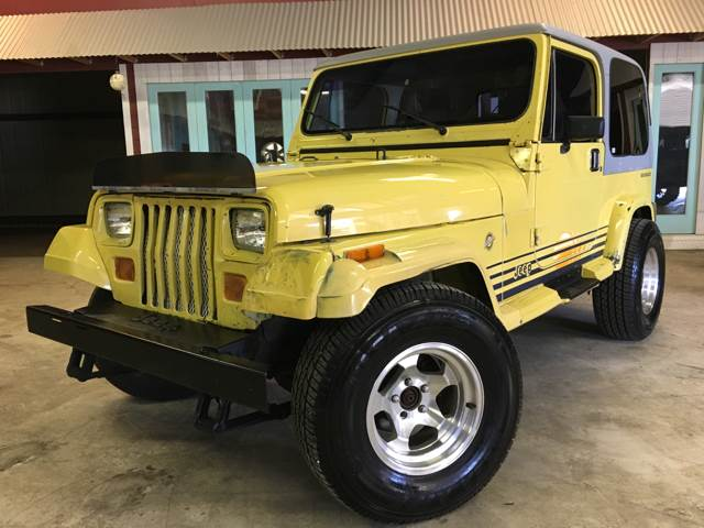 1990 jeep wrangler islander 2dr 4wd no reserve hard top for Parkway motors used cars panama city fl