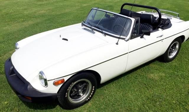 1978 mg b convertible 1798cc low miles southern car no for Parkway motors used cars panama city fl