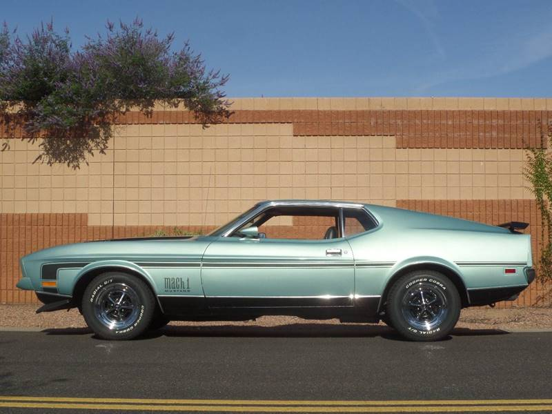 1972 ford mustang mach - photo #45