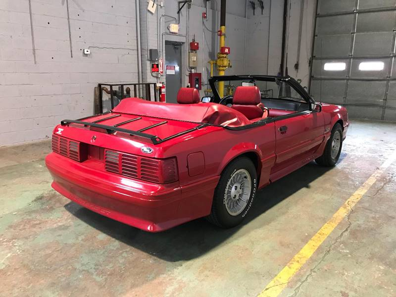 1988 Ford Mustang GT 2dr Convertible: 1988 Ford Mustang GT 2dr Convertible Automatic 4-Speed RWD V8 5.0L Gasoline