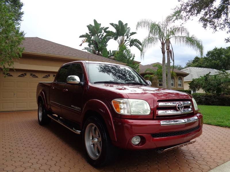 2006 toyota tundra sr5 4dr double cab rwd v8 2wd fl owned pristine used toyota tundra. Black Bedroom Furniture Sets. Home Design Ideas