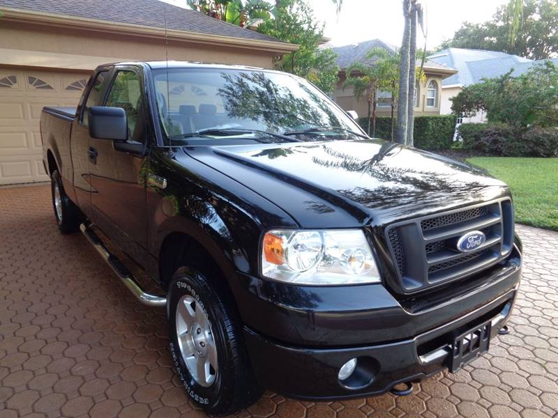 2006 ford f 150 stx 4dr supercab 4wd styleside 6 5 ft sb automatic 4 speed 4wd used ford f. Black Bedroom Furniture Sets. Home Design Ideas