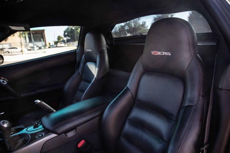 2007 Black Chevrolet Corvette Z06  | C6 Corvette Photo 10