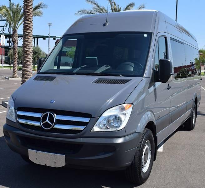 2016 Mercedes Benz Sprinter 2500 Passenger Exterior: 2012 Mercedes-Benz Sprinter 2500 170 WB 3dr Passenger Van