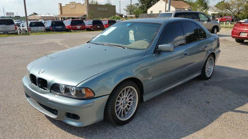 2002 bmw 5 series for sale for T and d motors bethany ok