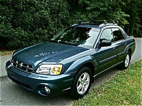 2005 subaru baja for sale in matthews nc. Black Bedroom Furniture Sets. Home Design Ideas