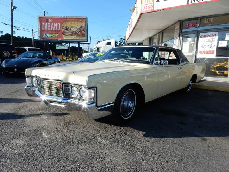 1969 lincoln continental for sale. Black Bedroom Furniture Sets. Home Design Ideas