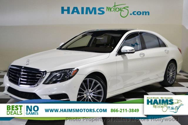 2014 mercedes benz s class for sale in hollywood fl for Mercedes benz s550 for sale in florida