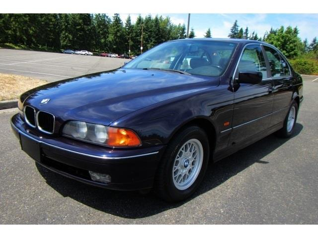 1997 bmw 5 series for sale in shoreline wa. Black Bedroom Furniture Sets. Home Design Ideas