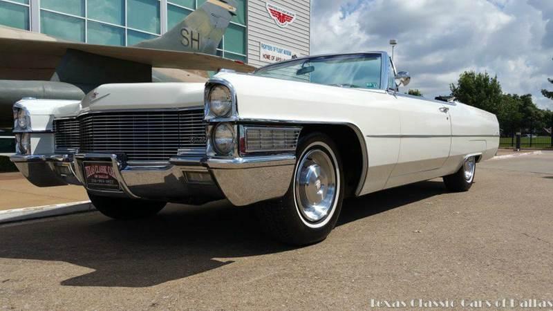 1965 Cadillac Deville For Sale: 1965 Cadillac DeVille For Sale In Dallas, TX