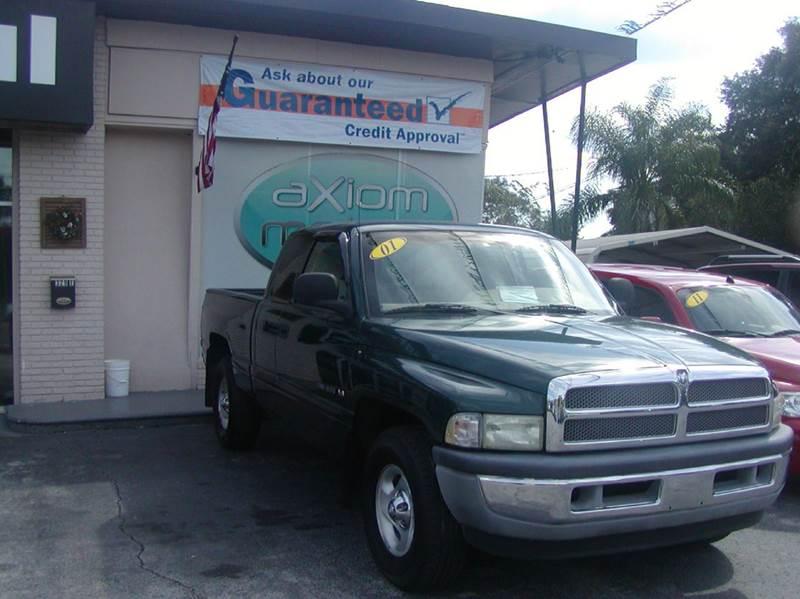 2001 Dodge Ram Pickup 1500 For Sale In Brandon Fl