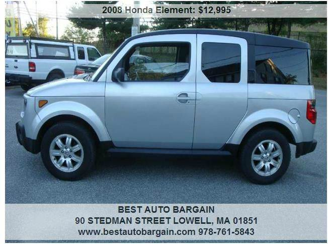 2008 honda element for sale. Black Bedroom Furniture Sets. Home Design Ideas