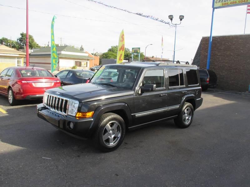 2009 jeep commander for sale in center line mi. Black Bedroom Furniture Sets. Home Design Ideas