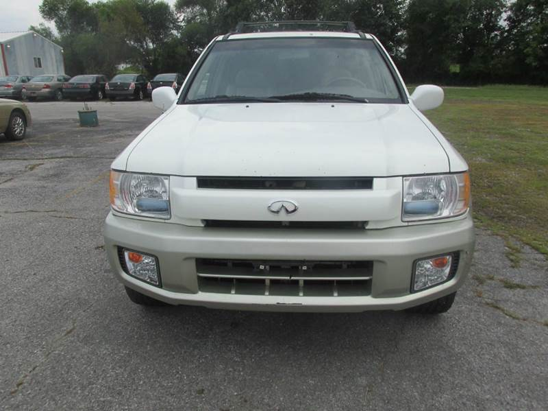 2003 infiniti qx4 for sale in carbondale il. Black Bedroom Furniture Sets. Home Design Ideas