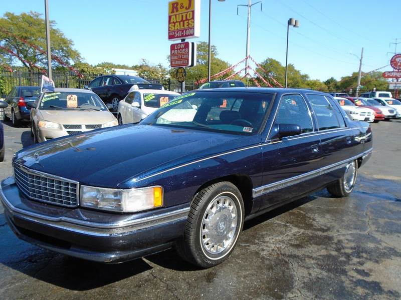 1996 cadillac deville for sale in detroit mi. Black Bedroom Furniture Sets. Home Design Ideas