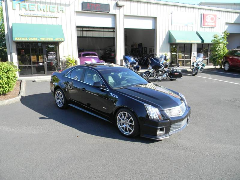 2010 cadillac cts v for sale in vancouver wa. Black Bedroom Furniture Sets. Home Design Ideas