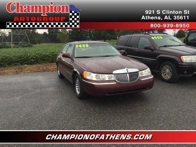 2000 lincoln town car for sale in athens al. Black Bedroom Furniture Sets. Home Design Ideas