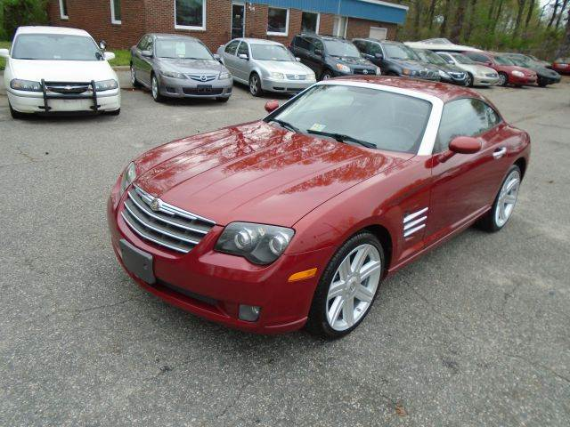 2005 chrysler crossfire for sale in virginia beach va. Cars Review. Best American Auto & Cars Review