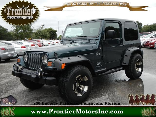 2005 jeep wrangler for sale for Frontier motors inc pensacola fl