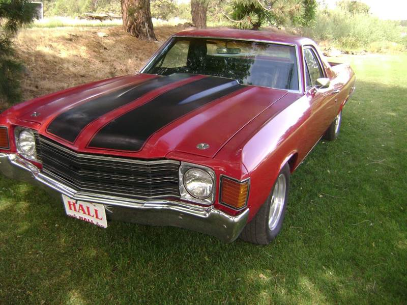 1972 chevrolet el camino for sale. Black Bedroom Furniture Sets. Home Design Ideas