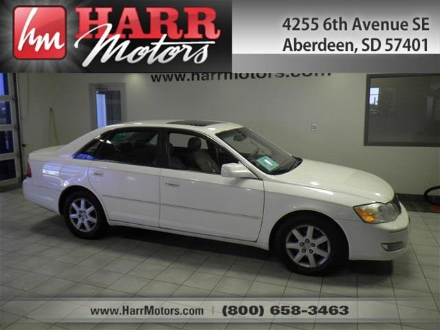 2000 toyota avalon for sale for Harr motors used cars